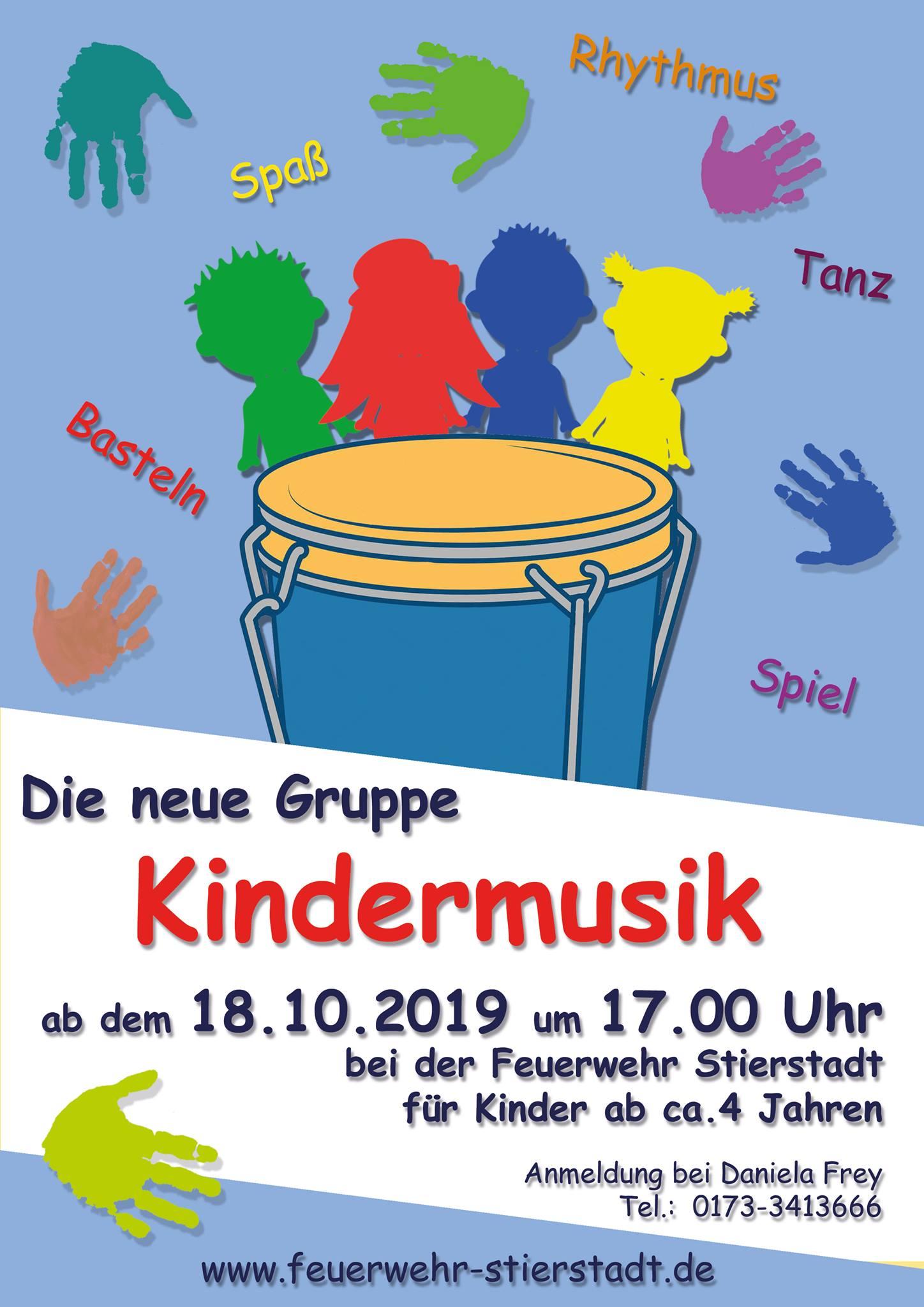 Neue Kindermusikgruppe 2019